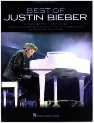Best Of Justin Bieber, For Easy Piano, Justin Bieber