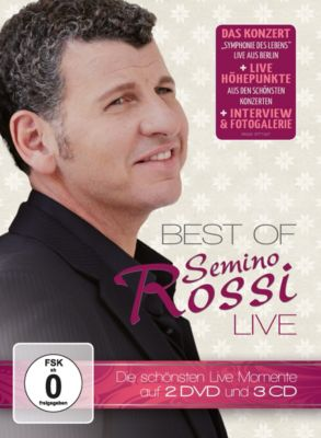 Best Of - Live (Limited Deluxe Edition, 3CDs+2DVDs), Semino Rossi