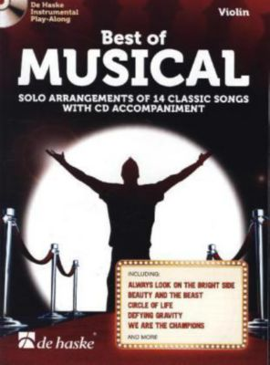 Best of Musical, für Violine m. Audio-CD, Eric Idle