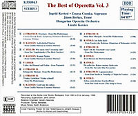 Best Of Operetta Vol.3 - Produktdetailbild 1