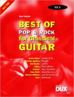 Best of Pop & Rock for Classical Guitar