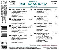 Best Of Rachmaninov - Produktdetailbild 1