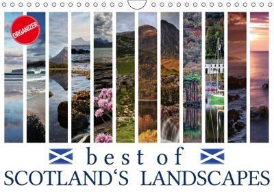 Best of Scotland's Landscapes (Wall Calendar 2019 DIN A4 Landscape), Martina Cross