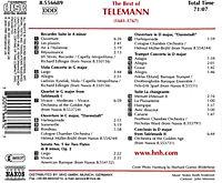 Best Of Telemann - Produktdetailbild 1