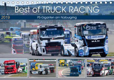 Best of TRUCK RACING (Tischkalender 2019 DIN A5 quer), Dieter-M. Wilczek