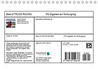 Best of TRUCK RACING (Tischkalender 2019 DIN A5 quer) - Produktdetailbild 13