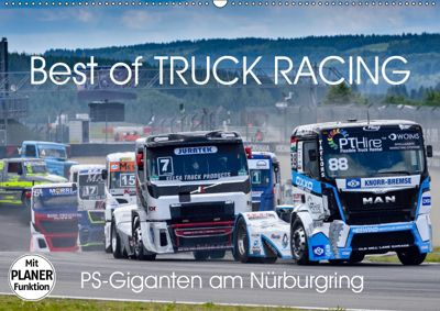 Best of TRUCK RACING (Wandkalender 2019 DIN A2 quer), Dieter-M. Wilczek