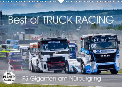 Best of TRUCK RACING (Wandkalender 2019 DIN A3 quer), Dieter-M. Wilczek