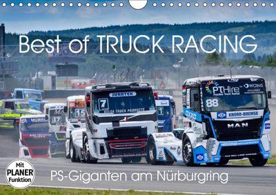 Best of TRUCK RACING (Wandkalender 2019 DIN A4 quer), Dieter-M. Wilczek
