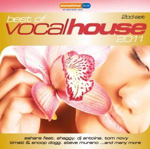 Best Of Vocal House 2011, Diverse Interpreten
