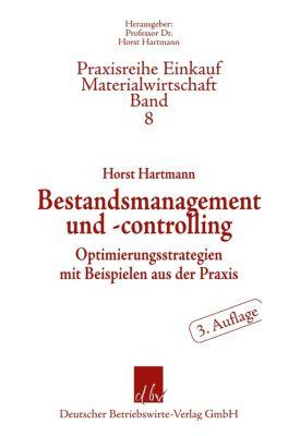 Bestandsmanagement und -controlling, Horst Hartmann