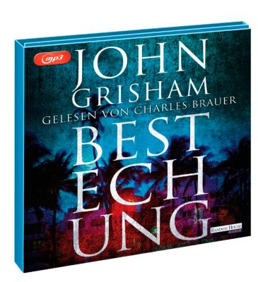 Bestechung, 2 MP3-CDs, John Grisham