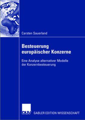 Besteuerung europäischer Konzerne, Carsten Sauerland
