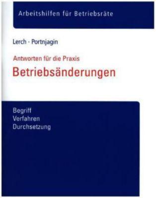 Betriebsänderungen, Sascha Lerch, Katharina Portnjagin