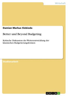 Better und Beyond Budgeting, Damian Markus Slebioda