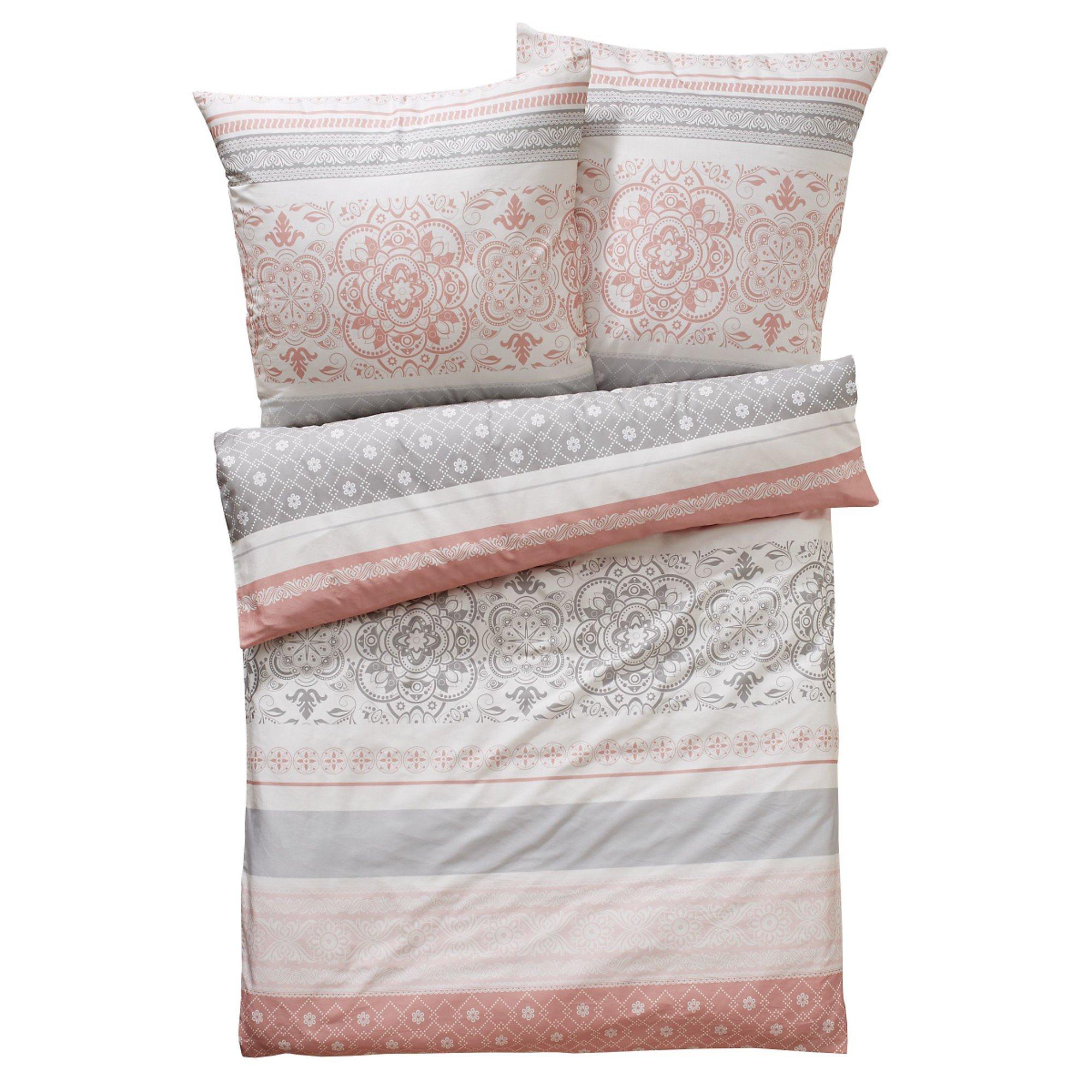 Bettwasche Balance Grau Rosa 135 X 200 Cm Bestellen Weltbild De