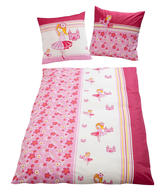 Bettwäsche Ballerina Pink Linon 135 X 200 Cm Weltbildch