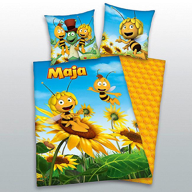Bettwäsche Biene Maja Linon 135 X 200 Cm Weltbildat