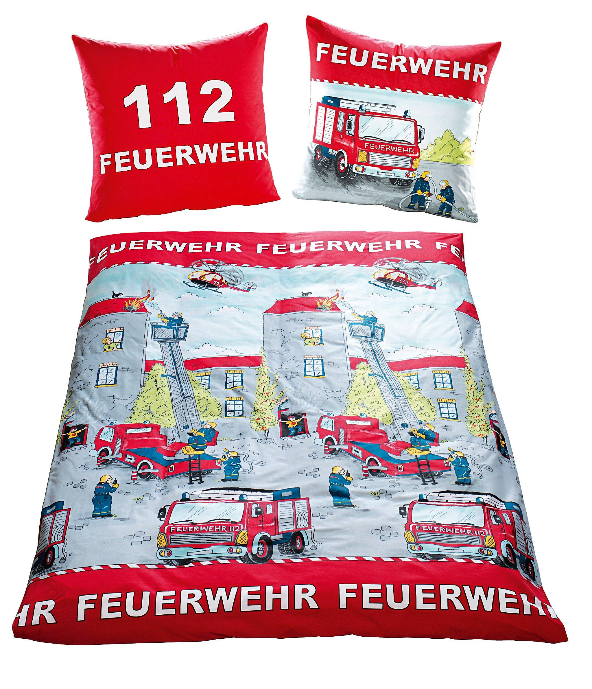 Bettwäsche Feuerwehr Linon 135 X 200 Cm Bestellen Weltbildch