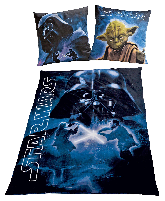 Bettwäsche Star Wars Exklusiv Nachtleuchtend Linon 135 X 200 Cm