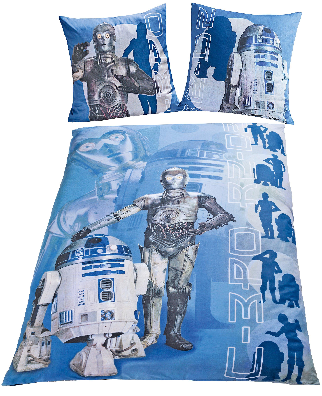 Bettwäsche Star Wars R2 D2 Und C 3po Linon 135 X 200 Cm Weltbildch