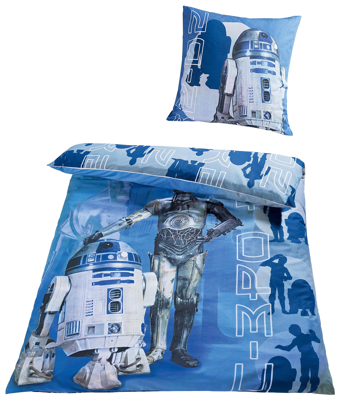 Bettwäsche Star Wars R2-D2 und C-3PO, Linon, 135 x 200 cm ...