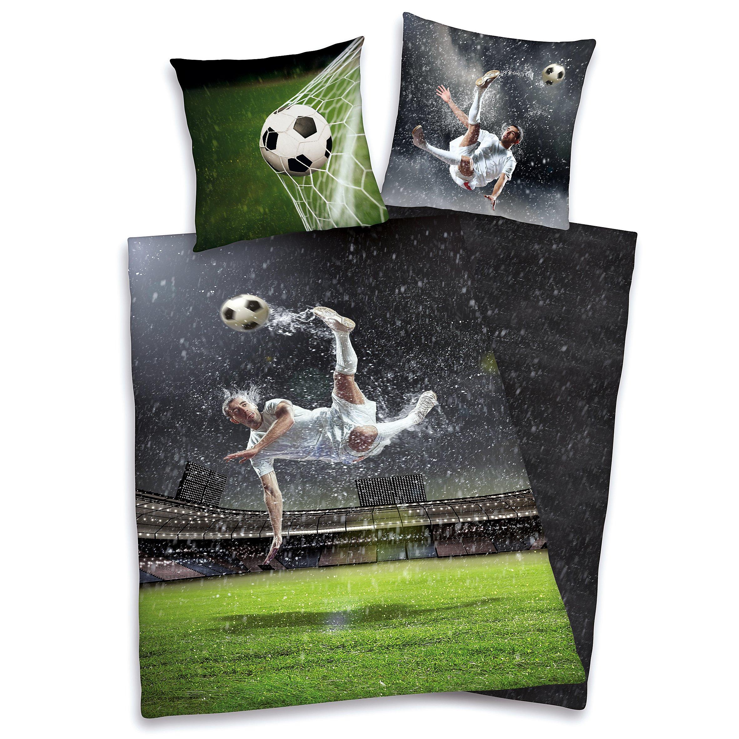 Bettwasche Young Collection Fussball Renforce 135 X 200 Cm