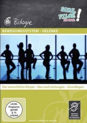Bewegungssystem - Gelenke, 1 DVD