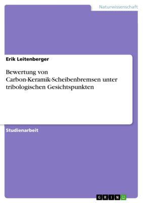 Bewertung von Carbon-Keramik-Scheibenbremsen unter tribologischen Gesichtspunkten, Erik Leitenberger