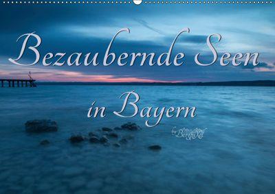 Bezaubernde Seen in Bayern (Wandkalender 2019 DIN A2 quer), Bergpixel