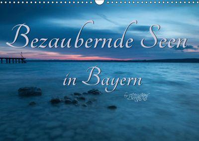 Bezaubernde Seen in Bayern (Wandkalender 2019 DIN A3 quer), Bergpixel