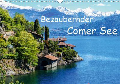 Bezaubernder Comer See (Wandkalender 2019 DIN A3 quer), Gabi Hampe