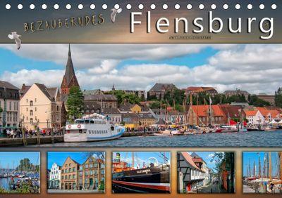 Bezauberndes Flensburg (Tischkalender 2019 DIN A5 quer), Peter Roder