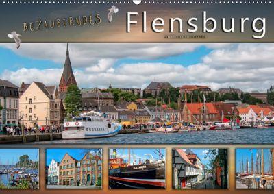 Bezauberndes Flensburg (Wandkalender 2019 DIN A2 quer), Peter Roder