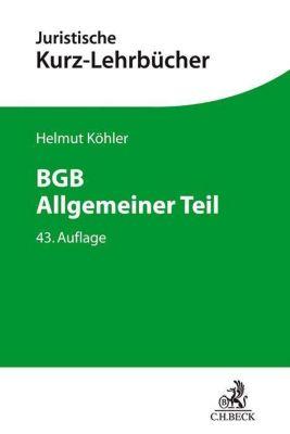 BGB Allgemeiner Teil -  pdf epub