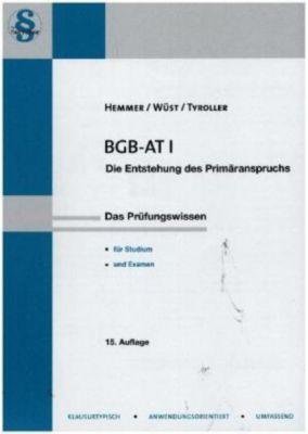 BGB AT I, Karl-Edmund Hemmer, Achim Wüst, Michael Tyroller