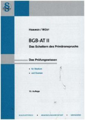 BGB AT II, Karl-Edmund Hemmer, Achim Wüst