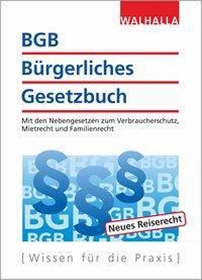 Bgb Bürgerliches Gesetzbuch Buch Bei Weltbildde Online Bestellen