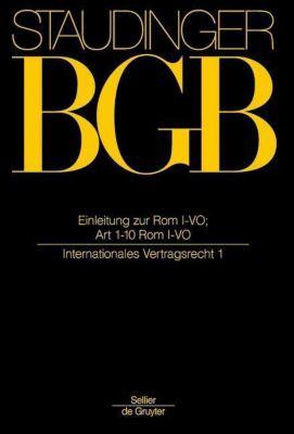 BGB Einleitung zur Rom I-VO; Art 1-10 Rom I-VO
