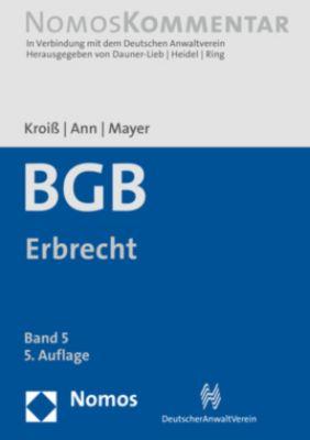 BGB, Kommentar: Bd.5 Erbrecht (ErbR)