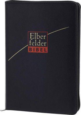 Bibelausgaben: Elberfelder Bibel - Standardausgabe, ital. Kunstleder, schwarz, mit Reissverschluss