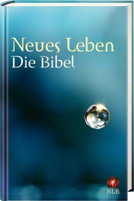 Bibelausgaben: Neues Leben. Die Bibel. NLB, Taschenausgabe, Motiv Tropfenperle