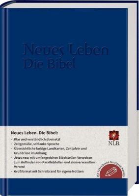 Bibelausgaben: Neues Leben. Die Bibel. NLB - mit Parallelstellen und Schreibrand, Kunstleder