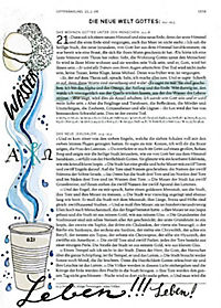 Bibelausgaben: Neues Testament, Einheitsübersetzung, Revision 2017 + Bibel kreativ DIY-Vorlagen - Produktdetailbild 2