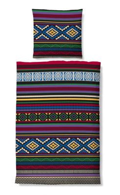 biberna winter soft seersucker bettw sche indianer gr e. Black Bedroom Furniture Sets. Home Design Ideas