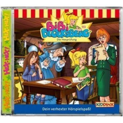 Bibi Blocksberg Band 113: Die Hexprüfung (Audio-CD), Bibi Blocksberg