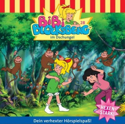 Bibi Blocksberg Band 28: im Dschungel (1 Audio-CD), Bibi Blocksberg
