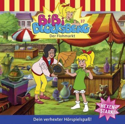 Bibi Blocksberg Band 37: Der Flohmarkt (1 Audio-CD), Bibi Blocksberg