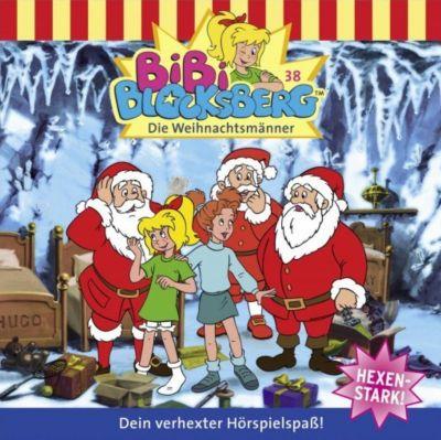 Bibi Blocksberg Band 38: Die Weihnachtsmänner (1 Audio-CD), Bibi Blocksberg