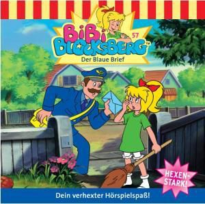 Bibi Blocksberg Band 57: Der Blaue Brief (1 Audio-CD), Bibi Blocksberg